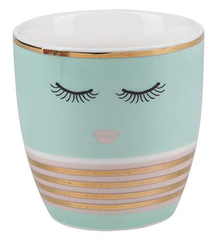 Miss Etoile - Teelichthalter - Candy Green - Porzellan - Ø7 x H7 cm