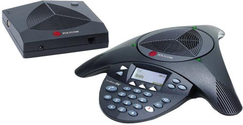 Polycom SoundStation 2W - Teléfono (Digital, 35 entradas, G.711, 10/100Base-T, LCD, Verde) Gris