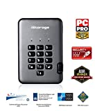 iStorage IS-DAP2-256-5000-C-G - Disco Duro cifrado Portable (5 TB) Color Negro