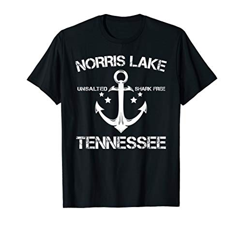NORRIS LAKE TENNESSEE Funny Fishing Camping Summer Gift T-Shirt