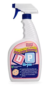 DP (de-pee)® Stain & Odor Remover: For Potty Accidents & Other Adventures