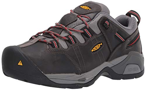 Price comparison product image KEEN Utility (KEECS) Men's Detroit XT Low Steel Toe Metatarsal Guard Work Shoe Construction Boot,  Grey / Bossa Nova,  11 Wide US