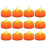 Lrnn 12 Pack Pumpkin Flameless...