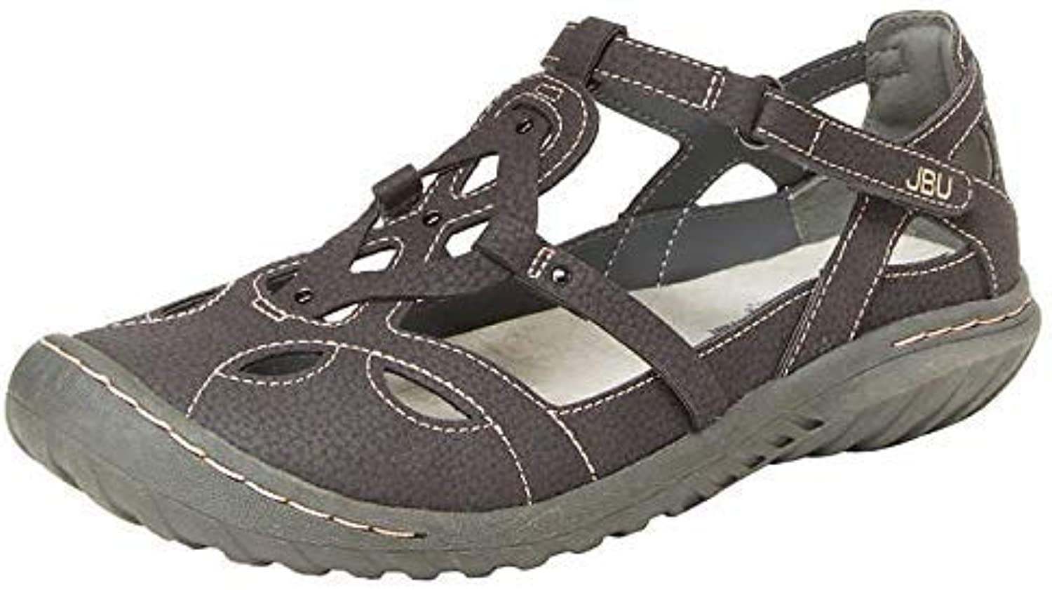 Jambu JBU Ladies' Sydney Sandal Flat Sandals for Women
