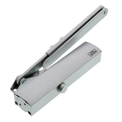 BURG-WÄCHTER Türschließer für Innentüren, Hydraulisch, Variabel einstellbar, Breite bis 95 cm, Gewicht bis 60 kg, TS 503 S, Silber