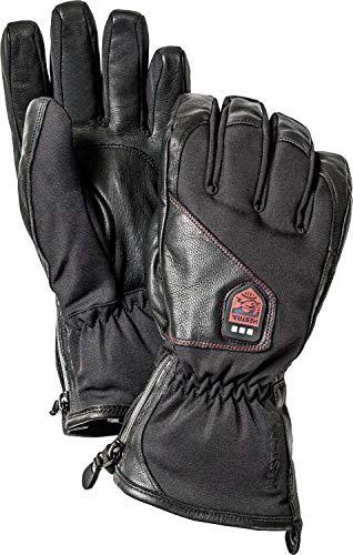 Hestra Beheizte Handschuhe: wasserdichte Power Heater Cold Weather Skihandschuhe, Schwarz, 10