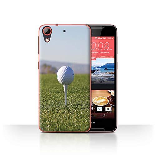 Stuff4 Hülle/Hülle für HTC Desire 628 / Abschlag Muster/Golfsport-Fan Kollektion