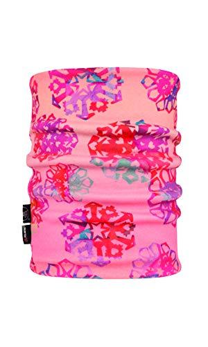 Buff Origami Flock Calentador Polar Reversible, Mujer, Rosa (Flamingo), Talla Única