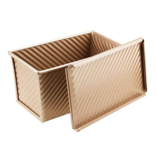 Baking Pan Bread Pan, Non-stick Bread Toast Mold with Lid, Toast Bread Mold for Baking Brownie Cake, Toast Box for Kitchen, Home, Restaurant