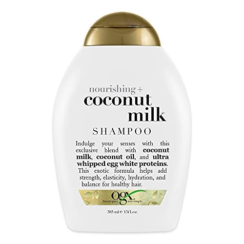 OGX Nourishing Coconut Milk Shampoo, 385 ml
