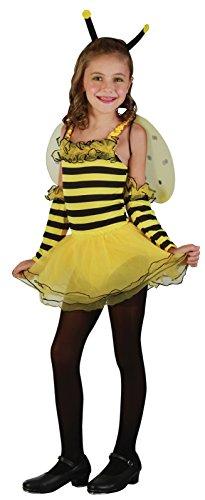 Rire Et Confetti - Fiaani022 - Déguisement pour Enfant - Costume Petite Abeille - Fille - Taille S