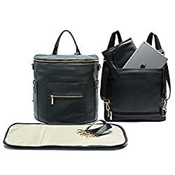 best leather diaper backpacks