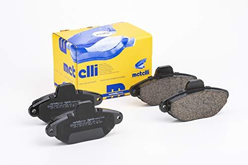 metelligroup 22-0159-1 Bremsbeläge, Made in Italy, Ersatzteile für Autos, ECE R90-zertifiziert, Kupferfrei