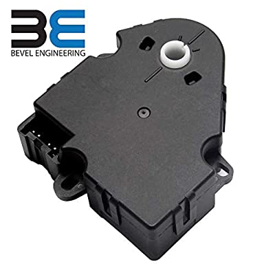 Updated Version Blend Door Actuator - Replaces:89018365, 604-106, 52402588 - Fits 1994-2012 Chevrolet, Chevy, GMC - Silverado 1500 & 2500, Tahoe, Sierra - HVAC Air Blend Control Motor - Heater Blend