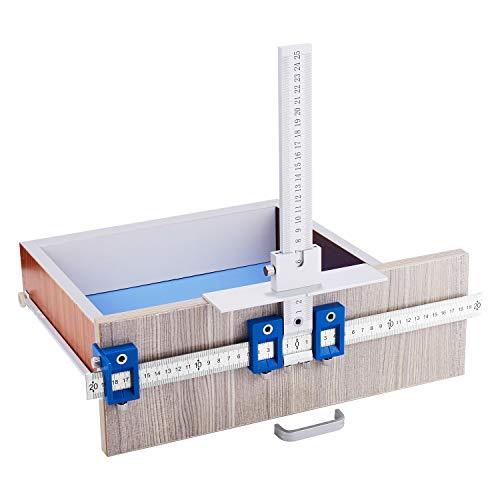 Ascendons cabinet Hardware Jig True Position Tool più veloce e più accurata manopola & Pull Jig legno drilling Dowelling sega Master System