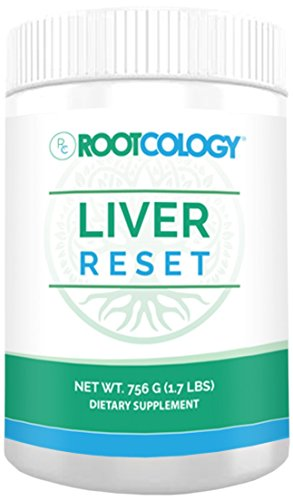 Liver Reset - Rootcology Pea Protein Isolate Cleanse with Vitamin B6, B12 & 14g Protein by Izabella Wentz Author of The Hashimoto's Protocol (756g / 21 Servings)