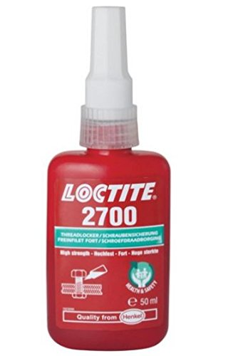 1299454 LOCTITE 2700 HEALTH & SAFETY FRIENDLY HIGH STRENGTH 50ML