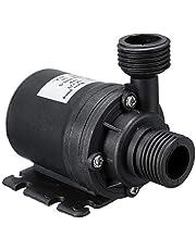 Goolsky Ultra Quiet Mini DC 12V Lift 5M 800L/H Brushless Motor Submersible Water Pump
