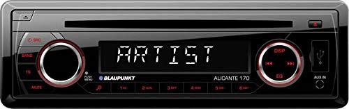 """Blaupunkt 2001017123468\"""" Alicante 170\"""" Auto-Radio schwarz"""
