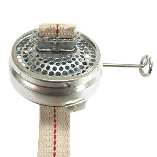 Dietz Brenner mit Docht, 23 mm breit, verzinnt, Petroleum Sturmlaterne Schwarze Gartenlampe Modell 0020