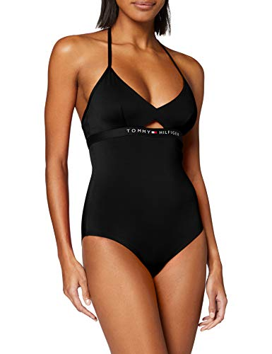 Tommy Hilfiger Mujer One-Piece Rp Braguita de Bikini Not Applicable, Azul,