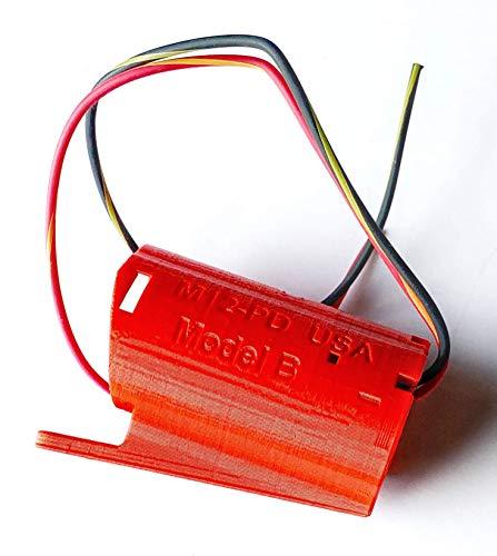 Milwaukee M12 Battery Holder Wall Mount Wired 14AWG, DIY, Robot, e-Bike, Lights, Tools USA PN M12-PD-14B