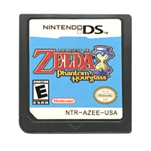Flowing CHENZHEN DS Tarjeta de Consola del Cartucho de Juego La Leyenda de Zel da Serie English Language Fit para Nintendo DS 3DS 2DS CZ (Color : Phantom Hourglass US)