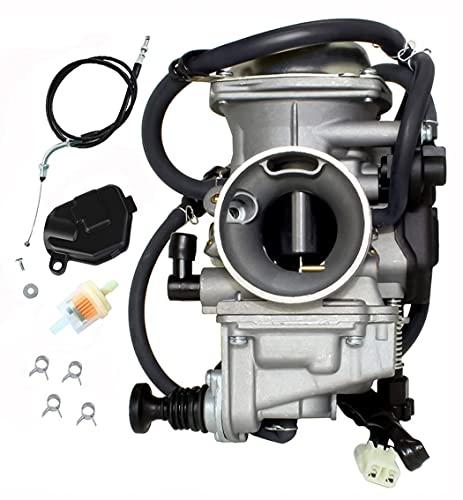Carburetor Replace for Honda Fourtrax 300 350 Foreman 400 450 Rancher 350 Carb, Honda Fourtrax 300 Carburetor, Honda Foreman 450 Carburetor, Honda Rancher 350 Carburetor