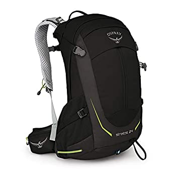 Osprey Stratos 24 Men's Ventilated Hiking Pack - Black (O/S)