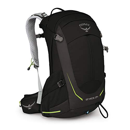 Osprey Stratos 24 Men's Ventilated Hiking Pack - Black (O/S)