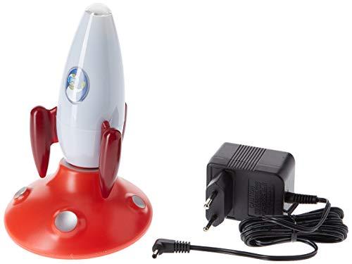Osram LED Nachtlicht, ORBIS, Taschenlampenfunktion, Dämmerungssensor, Schlummerleuchte für Babys, Rakete, Tageslicht- 7000K 4052899906143