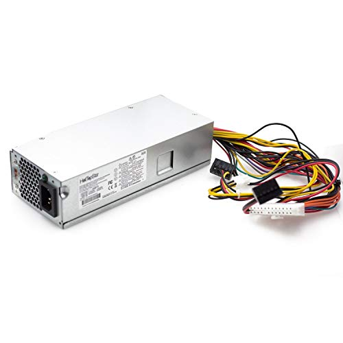 HotTopStar 220W 633195-001 - Fuente de alimentación (PSU) compatible con HP Pavilion Slimline S5-1024, S5-1010, S5-1020, S5-1214 y otras series S5), TouchSmart 310-1205la PC de escritorio, PS-6221-9