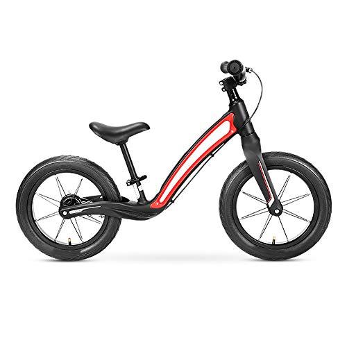 Hanbei Carro de Equilibrio para Niños,2-6 Años,12 Pulgadas Bicicleta sin Pedales, Correpasillos...
