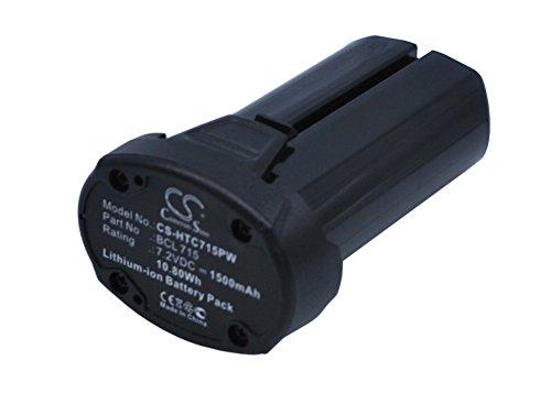 Ekkos Battery for Hitachi WH7DL BCL 715 (Li-ion,1500mAh)