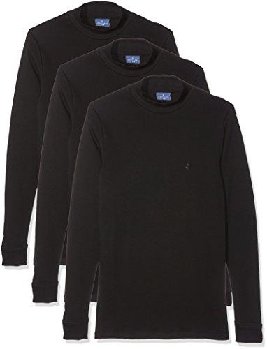 Navigare 115 - Sous-Vêtements De Sport - Lot de 3 - Homme - Noir - Large