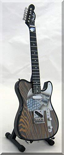 GAMES of THRONES Guitarra miniatura Telecaster Dragon