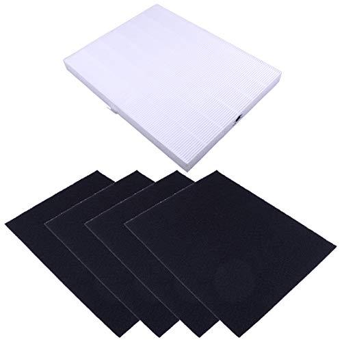 Juego de 5 filtros HEPA y de carbono para Winix 115115 WAC5300 WAC5500 WAC6300