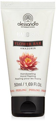 alessandro Hands Spa Flower Bar Handpeeling Amazonia, 1er Pack (1 x 50 ml)