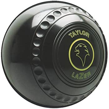 Pair Size 00 Taylor Lazer Progrip Slim Profile Black Heavy Indoor Short Mat Bowls