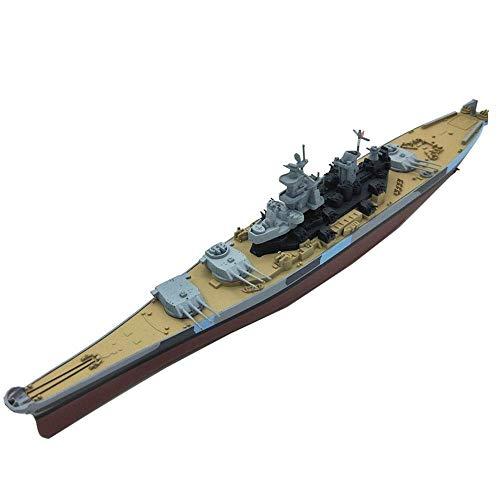 Modelo de aleación militar 1/1000, de la WWII, USS, Missouri Battleship BB63, decoración principal y regalos, 10,4 pulgadas Jzx-n.