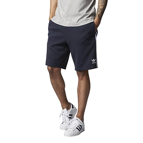 adidas SST Shorts Pantalones Cortos, Hombre, Azul (Tinley/Blanco), S