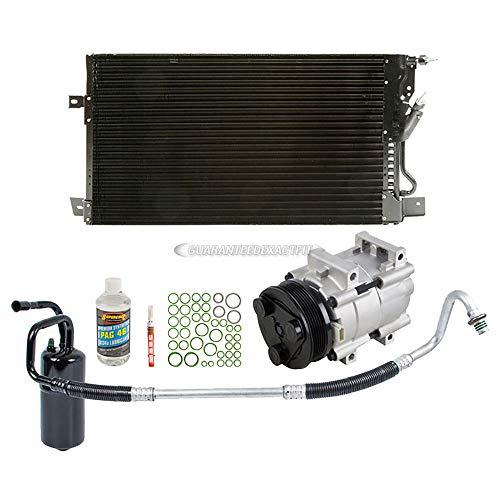 A/C Kit w/AC Compressor Condenser & Drier For Ford Taurus & Mercury Sable 2002...