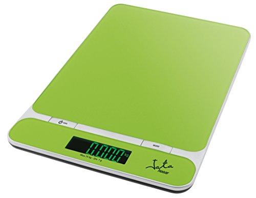 Jata Hogar 715 - Balanza electrónica, color verde