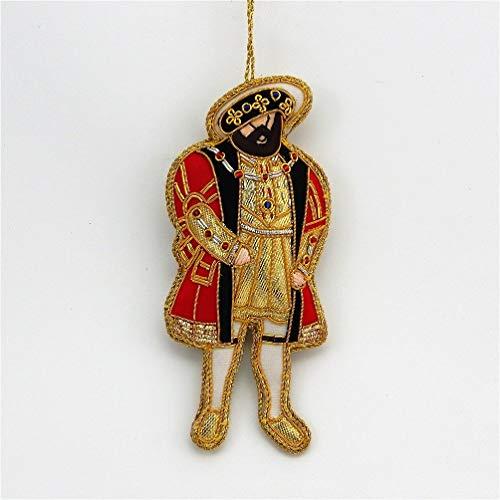 Tinker Tailor - Henry VIII - Zardozi Embroidery - Christmas Ornament