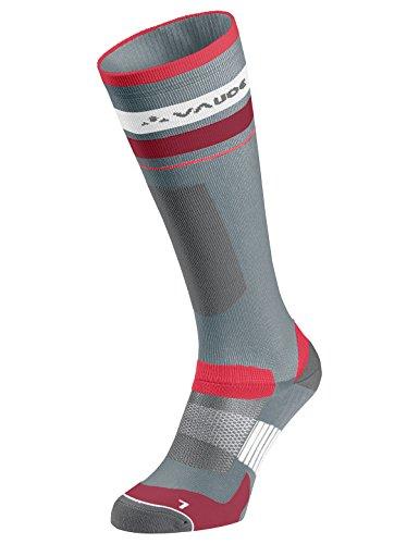 VAUDE Damen Socken Bike Socks Long, pewter grey, 42-44, 401360990420