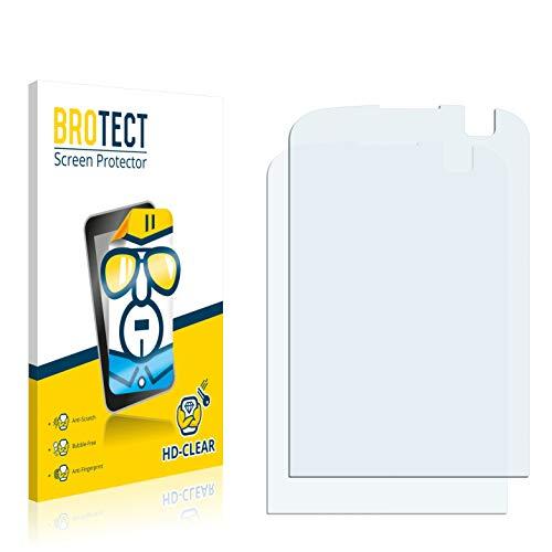 BROTECT Schutzfolie kompatibel mit O2 XDA Orbit 2 (2 Stück) klare Bildschirmschutz-Folie
