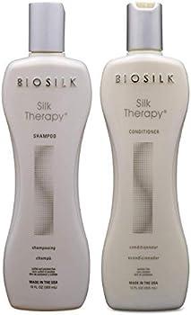 Biosilk Silk Therapy Duo Set Shampoo and Conditioner, 12 Oz