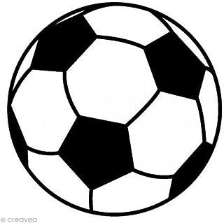 Artemio ARTHA646 Tampon Bois A Football, Multicolore, 2,6 x 2,5 x 2,6 cm