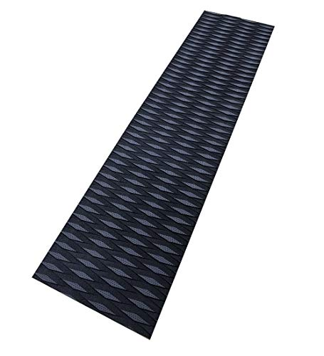 Foammaker Universal (34in x 9in) DIY Traction Non-Slip Grip Mat Pad, Versatile and Trimmable Sheet of EVA for SUP, Boat Decks, Kayaks, Surfboards, Standup Paddle Boards, Skimboards and More (Black)