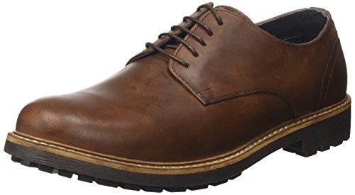Red Tape Mens Risley Wood Casual Shoe, Brown (Wood), 9 UK